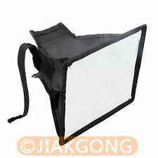 Portable 15*17cm  Flash Diffuser Mini Flash Softbox for Canon Nikon Pentax Sony