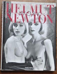 HELMUT NEWTON - PHOTO BOOK WORK Taschen Jumbo Series