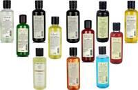 CHOOSE FROM 12 HAIR CLEANSER KHADI NATURAL HERBAL SHAMPOO 210 ML