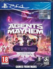 AGENTS OF MAYHEM Day One Edition - PS4 - NUOVO ITALIANO