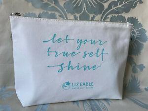 "Liz Earle Beauty Bag  ""let your true self shine"""