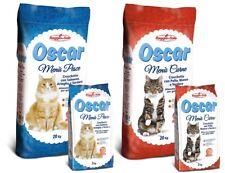 Mangime per gatti croccantini crocchette oscar gatto adulto adulti gattini