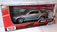 Mazda RX-8 in Silver RHD Motor Max 1-24 Scale Model New in box