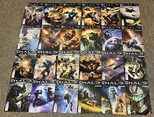 HALO ESCALATION video game comics #1-24 ~ FULL SET