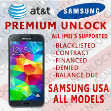 PREMIUM Factory Unlock Code Servic for AT&T Samsung Galaxy  , NOTE, ALL MODELS