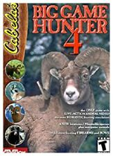 Cabelas Big Game Hunter 4 Pc 2 Brand New Cd Roms Sealed In Paper Sleeves XP