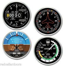 TRINTEC Aircraft Instruments COASTERS 4 pc 20 Series Coaster Set New
