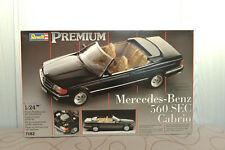 MAQUETTE REVELL MERCEDES-BENZ 560 SEC CABRIO 1990 1/24 REF : 7182 RARISSIME !!