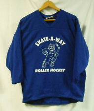 ROLLER HOCKEY JERSEYS - BAKKA  SET OF 11 - ROYAL BLUE - YOUTH LG  FREE SHIP !