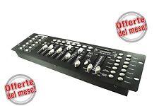 DMX512 LUCI CONTROLLO MIXER CONTROLLER LUCI DISCO EFFETTO CONSOLE DJ DISCO192
