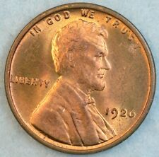 1926 P Lincoln Wheat Cent UNCIRCULATED BU UNC FAST S&H 34046