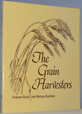 The Grain Harvesters Mechanical Farm Implements Agricultural History J3