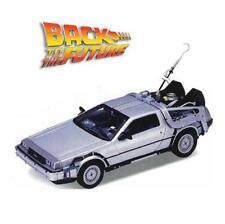 Back to the Future 1 DeLorean 1:24 Scale Car - Time Machine Michael J. Fox