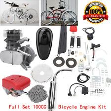 100cc Bicycle DIY Engine Motor Kit 2-Stroke Gas Motorized Motor Bike Modified