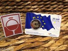 COINCARD NEDERLAND 2015 - 30 jaar Europese Vlag -  2 euro in BU kwaliteit