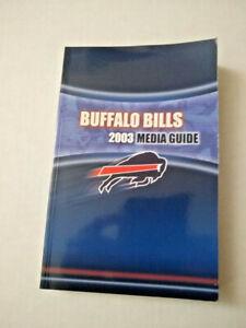 2003 Buffalo Bills Media Guide