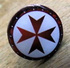 Anstecker Templerkreuz Tempelritter Templer Ritter Pin Knights Templar 109