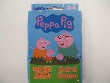 Peppa Pig Top Trumps Card Game