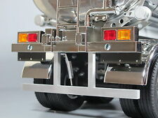 Rear Lower Back Aluminum Bumper Bar Tamiya 1/14 Semi Flatbed Container Trailer