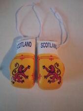 Scotland/Lion Rapiant Flag/Scottish mini boxing gloves 4 your car-Get the best.