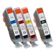 4' Ink Cartridge for Canon CLI-8 BK CLI-8C CLI-8M CLI-8Y