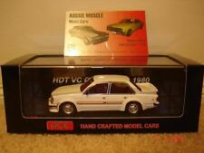 1:43 Peter Brock  HDT VC Commodore in Palais White, Limited Edition of 500 Only