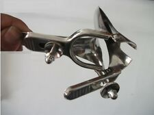 Stainless Steel 10 cm Deeper Anal & Vaginal Dilation Speculum Extender Enlarger