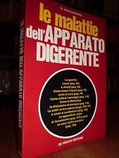 Le malattie dell' apparato digerente  -  SAPONARO Aldo  -  1973