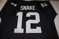 "KEN STABLER #12 SEWN STITCHED AFL THROWBACK JERSEY SIZE XXL SB XI CHAMPS ""SNAKE"""