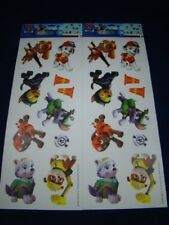 20 PIECES - Paw Patrol Wall Decals - Wall Stickers Decor - NEW - 2 Sheets of 10