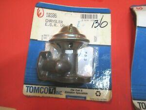 MOPAR-DODGE-1.6L--2.2L-1981-1987---NEW-EGR VALVE  EGV136