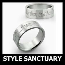 Religious Stainless Steel Band Costume Rings
