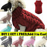 Puppy Dog Knitted Jumper Sweater Winter Warm Pet Clothes Small Dogs Coat M-XL