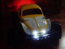 RC CAR/TRUCK LED HEADLIGHTS-1/10 LIGHT KIT *Traxxas/slash/4tec/e revo/stampede