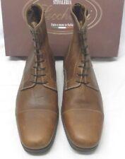 Paddock Ankle Boots by Stivaleria Secchiari Leather Cotto Brown Euro Size 41 1/2