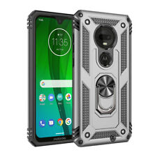 Fr Motorola Moto Z4/E6/G7Plus/Play/Power/Supra Shockproof Armor Case Stand Cover