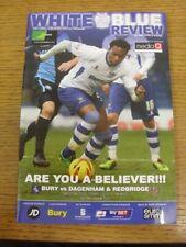 22/03/2014 Bury v Dagenham And Redbridge  . Bobfrankandelvis (aka Footy Progs) s