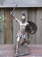 Hector ~ Warrior, Veronese Collection, 28cm Tall, Bronzed Statue, Trojan