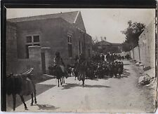 Jérusalem Palestine Israël Voyage en Moyen-Orient 1909 Vintage silver 6x9cm