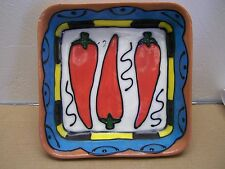 Red Chile Casserole Dish/Deep Serving Tray - Mexico