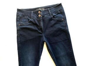 Ladies  NEXT Lift , Slim, & Shape Skinny Dark Blue Jeans  Size 18 Reg Exc cond