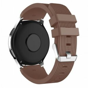 Soft Silicone Rubber Band for Samsung Galaxy Watch 42mm 46mm Strap Bracelet Belt