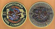 Pa Pennsylvania Game Commission Black Back Branch Version 1995 Centennial Patch