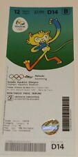 old ticket Olympic 2016 Rio Swimming FINALS D14 12.08 Ledecky Phelps Hosszu Cseh