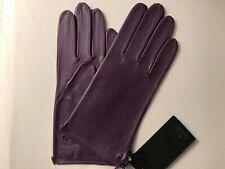 Roeckl Handschuhe Nappa lila violett Gr. S  6,5 ohne Futter