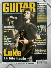 LUKE/GUITAR AWARDS-revue GUITAR PART-n°136 JULLET 2005-free port-lot