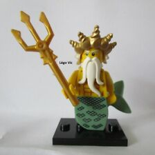 Légo 8831 Minifig Figurine Série 7 Ocean King + socle