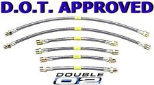 STEEL Brake LINES Hoses DOT Approved BMW Z3 CUSTOM Made USA Ships FAST New
