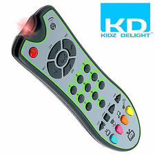 Kids TV Remote Control / KD Baby Toys Toy Gift Fun Remote TV 60 sounds + light