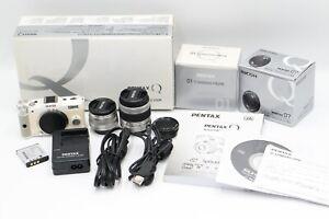 Pentax Q Series Q 02 Standard Zoom 01 standard 07 lens-White